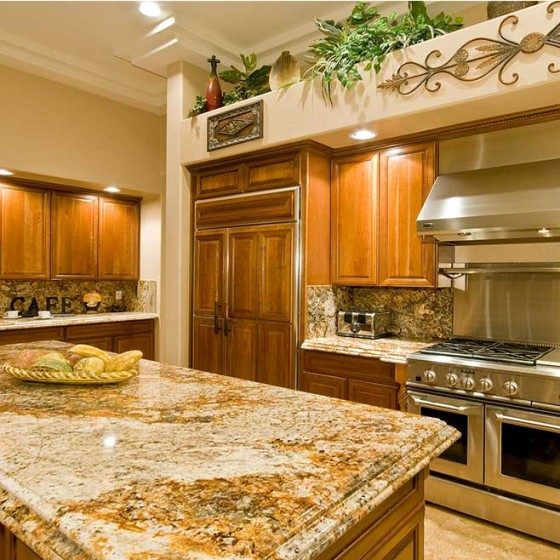 remodeled kitchen range