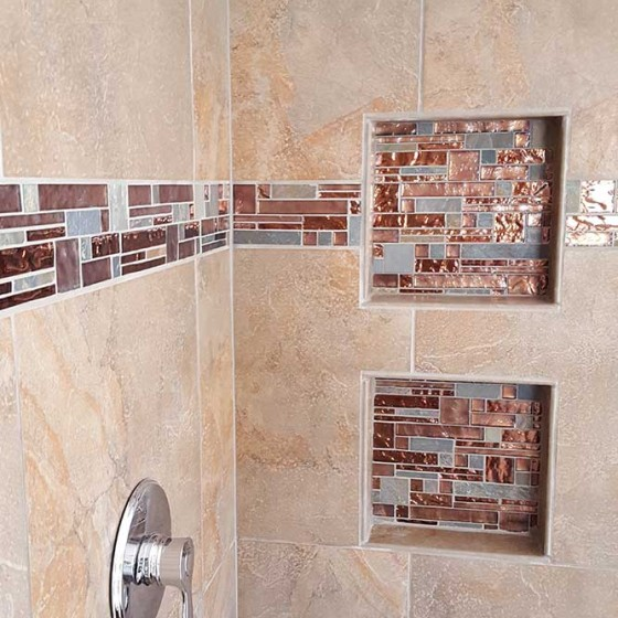 shower insets